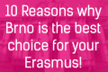 10 Reasons why Brno is the best choice for your Erasmus!
